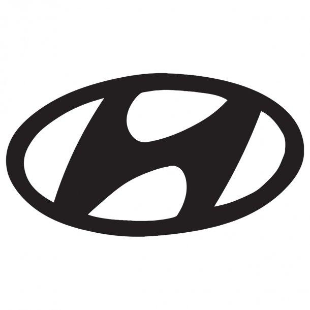 Hyundai Logo Decal Sticker