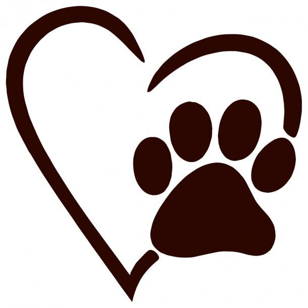 I Love Dogs Decal Sticker