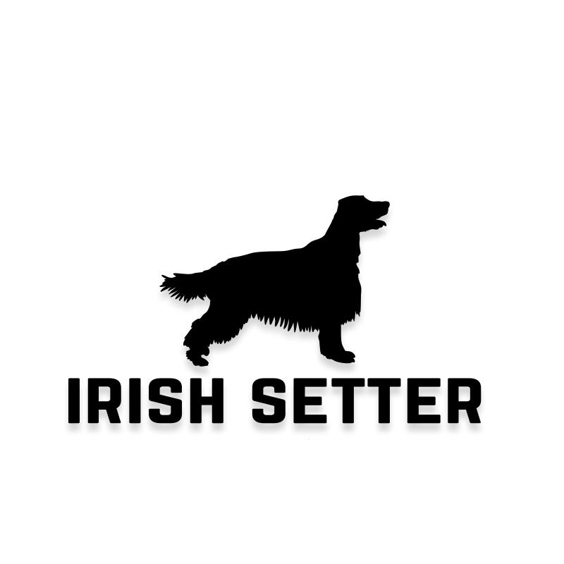 Irish Setter Car Decal Dog Sticker for Windows