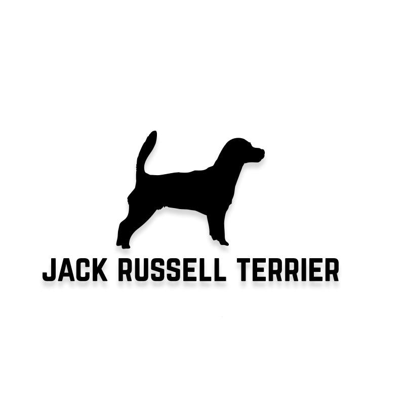 Jack Russell Terrier Car Decal Dog Sticker for Windows