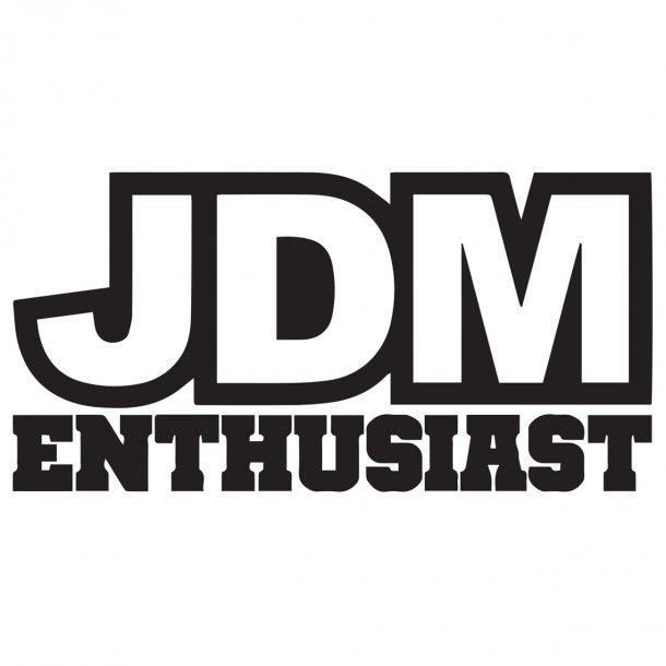 Jdm Enthusiast Decal Sticker