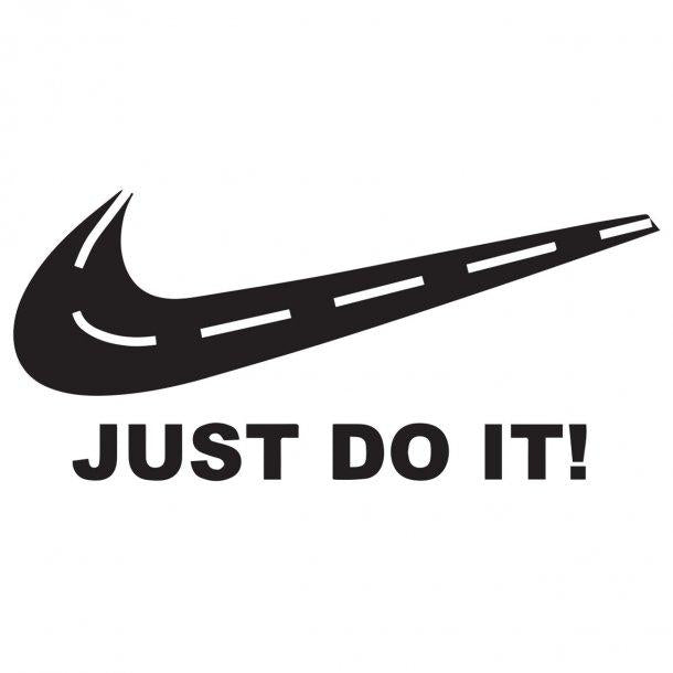 Just Do It Decal Sticker