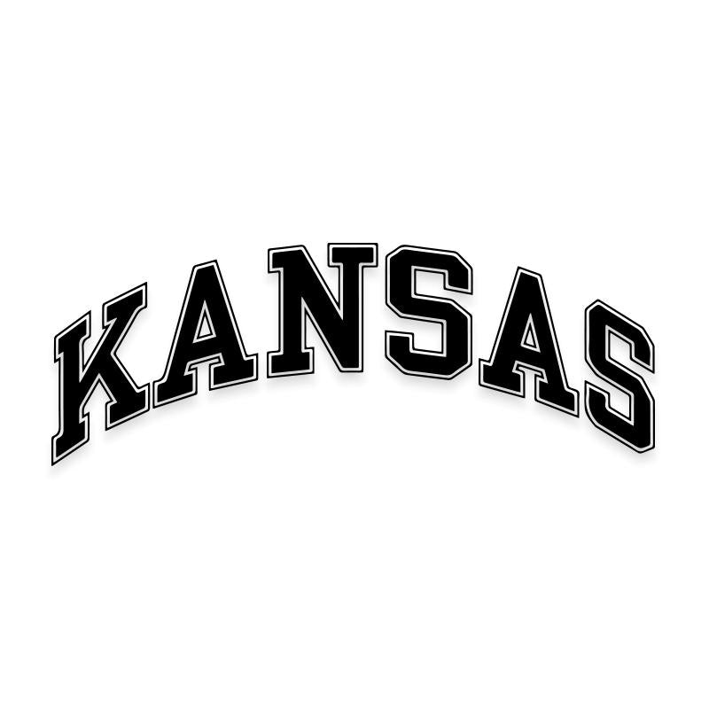 Kansas University Decal Sticker