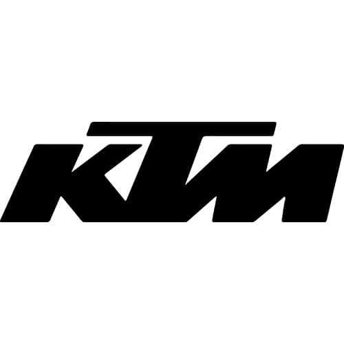 KTM Logo Decal Sticker