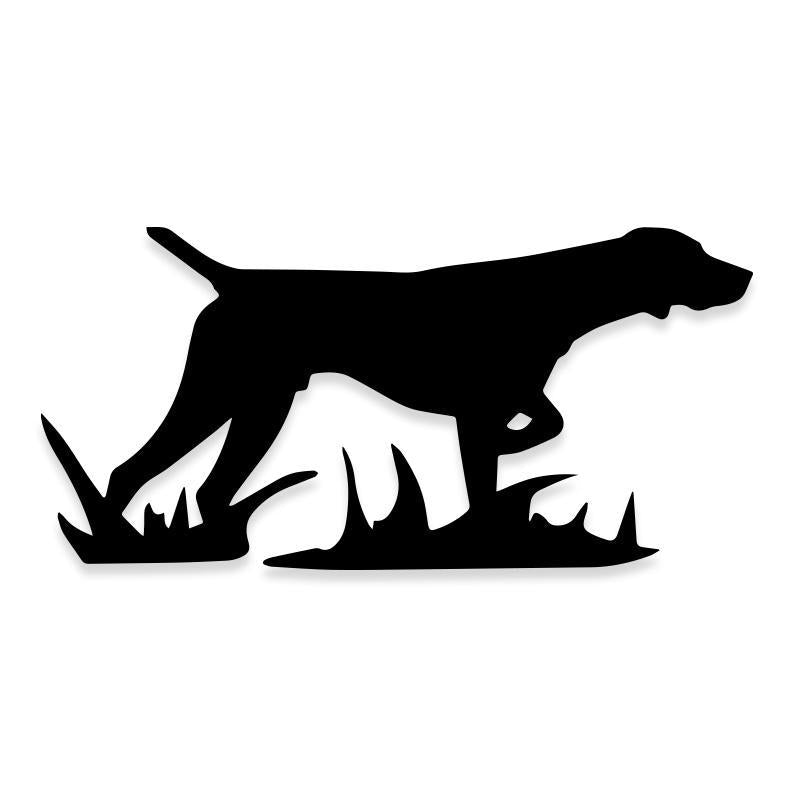 Labrador Retriever Pointer Hunting Dog Decal Sticker