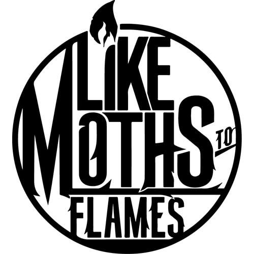 Like Moths To Flames Decal