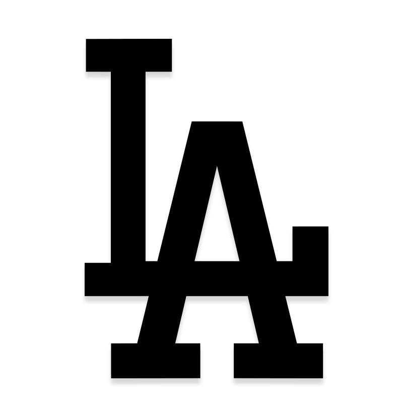 Los Angeles Dodgers Decal Sticker
