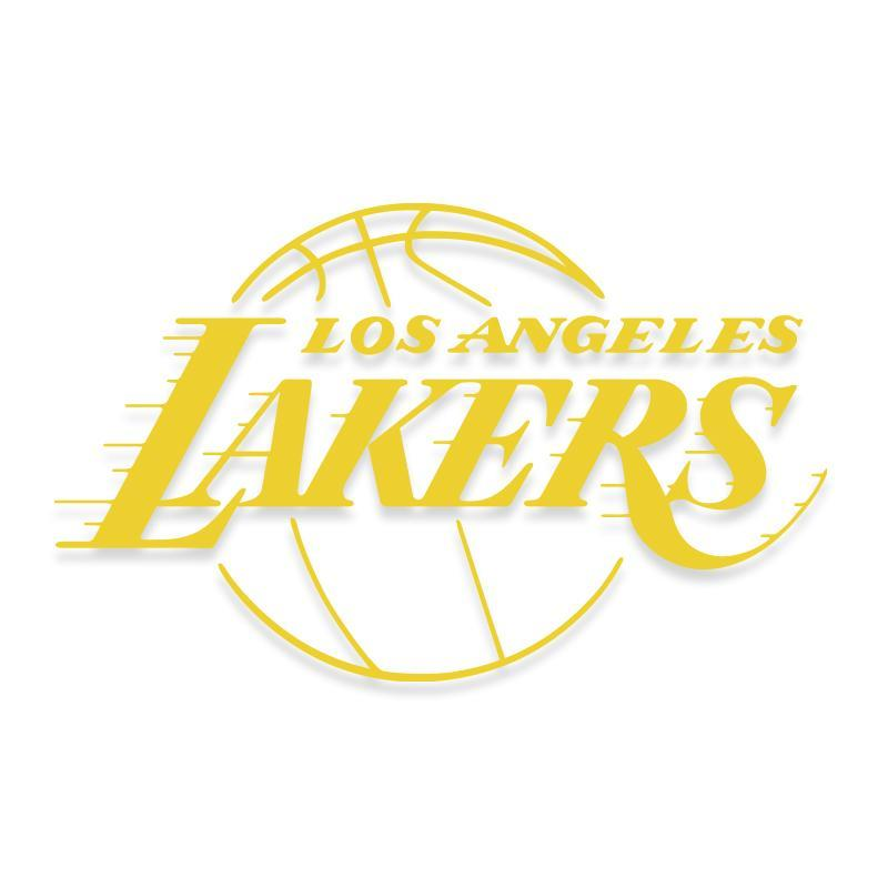 Los Angeles Lakers Official NBA Decal Sticker for Cars