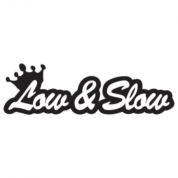 Low And Slow 2 Decal Sticker