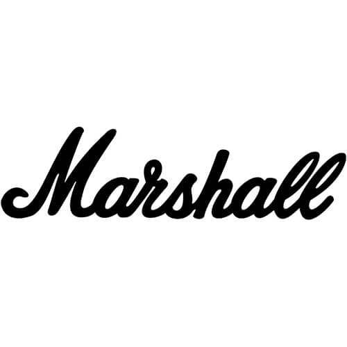 Marshall Amps Decal Sticker