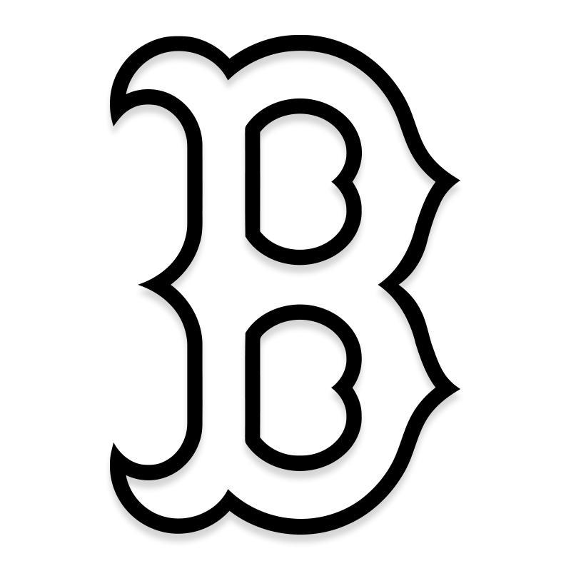 MLB Boston Red Sox Decal Sticker
