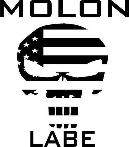 Molon Labe Punisher Decal Sticker