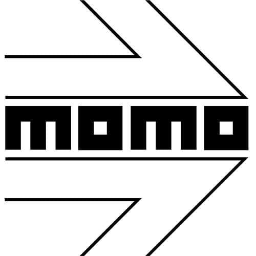 Momo Logo Decal Sticker