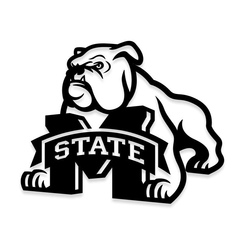MSU Mississippi State University Decal Sticker