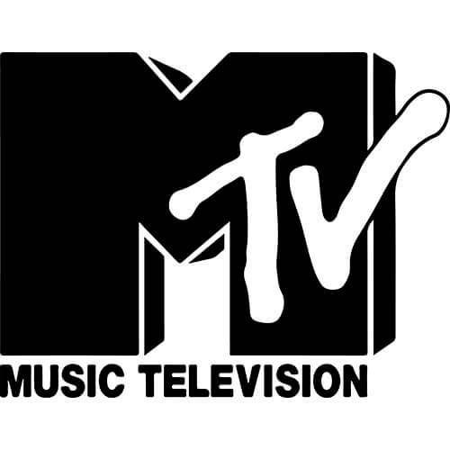MTV Logo Decal Sticker