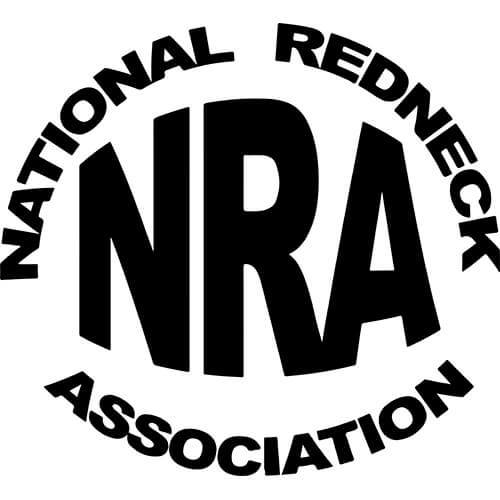National Redneck Association Decal Sticker