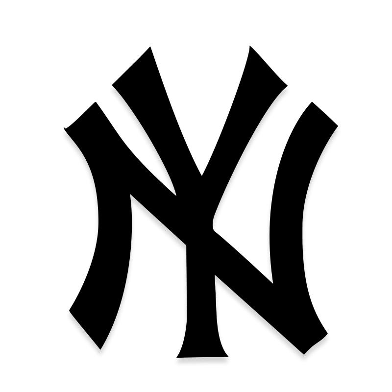 New York Yankees NY Decal