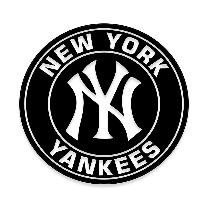 New Yorks Yankees MLB Decal Stickers