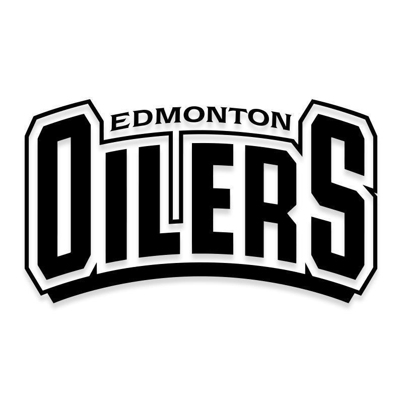 NHL Edmonton Oilers Hockey Team Official Decal Sticker