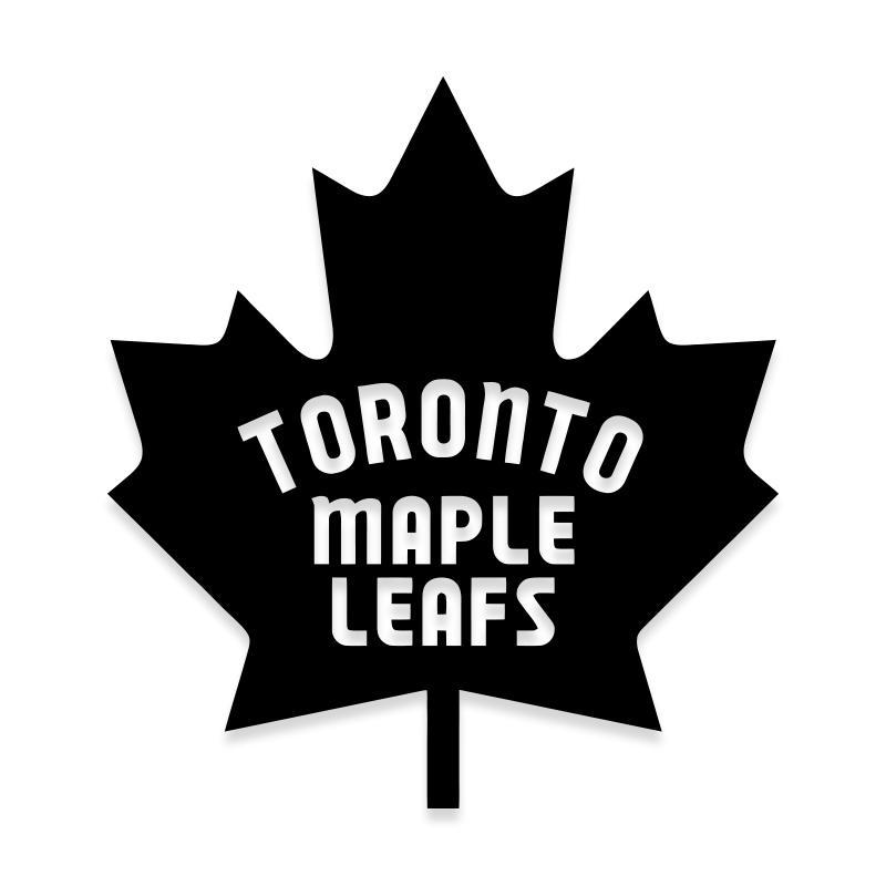 NHL Toronto Maple Leafs Sticker Decal