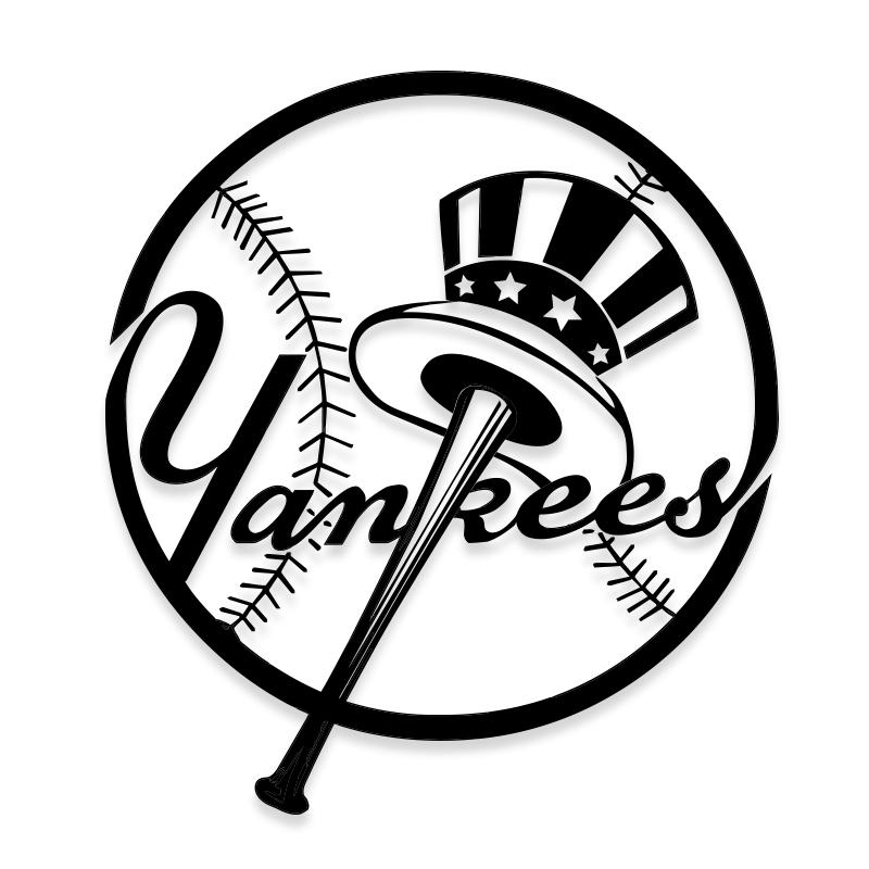 Official NY Yankees Decal Sticker