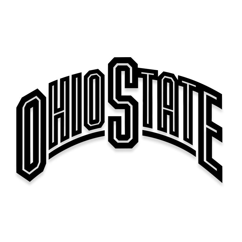Ohio State University Car Decal