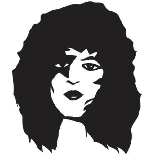 Paul Stanley Decal Sticker