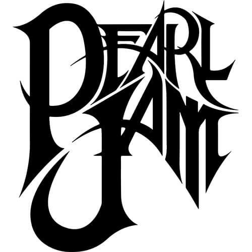 Pearl Jam Decal Sticker