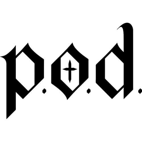 POD Band Decal Sticker
