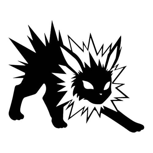 Pokemon Go Jolteon Decal Sticker