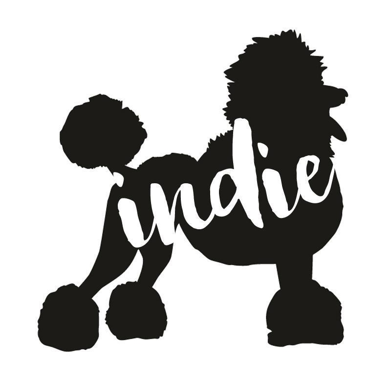 Poodle Dog Decal Sticker for Car Windows
