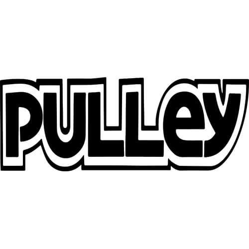 Pulley Decal Sticker