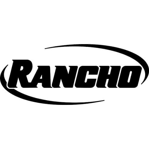 Rancho Suspension Logo Decal Sticker