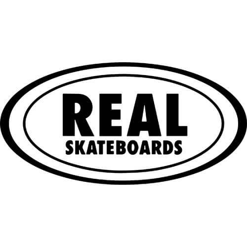 Real Skateboards Decal Sticker
