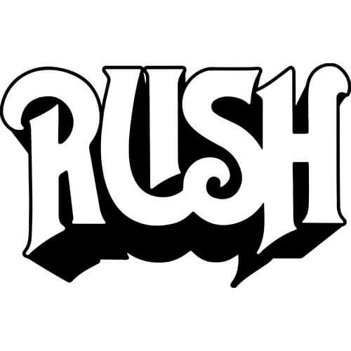 Rush Decal Sticker