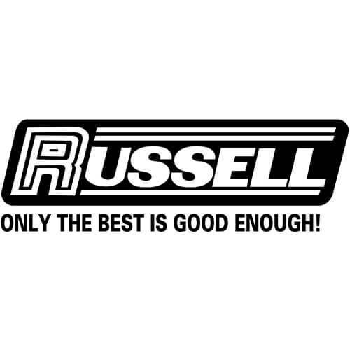 Russell Logo Logo Decal Sticker