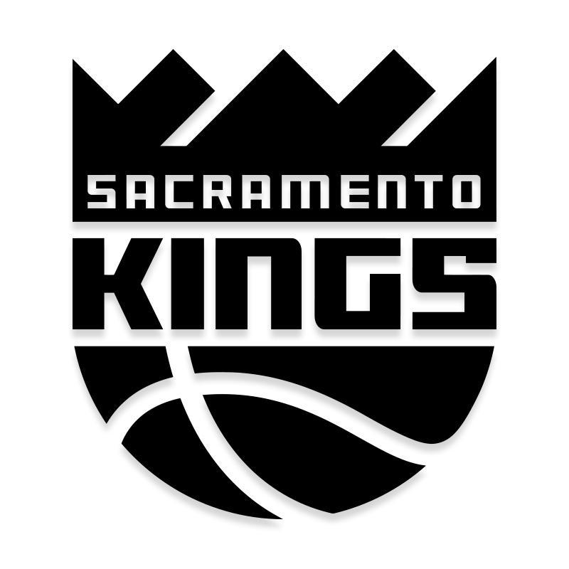 Sacramento Kings Decal Sticker