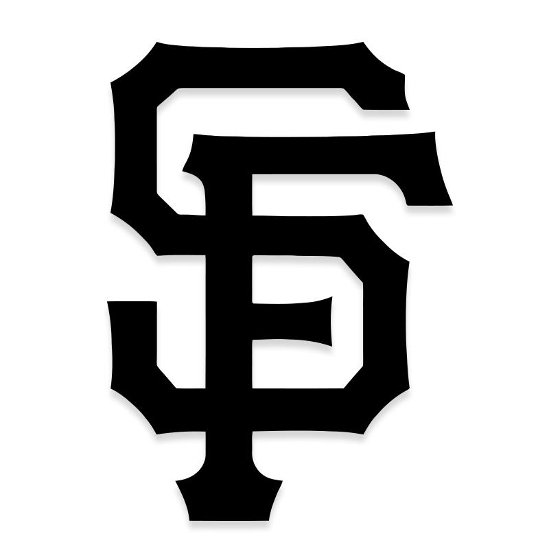 San Francisco Giants MLB Decal