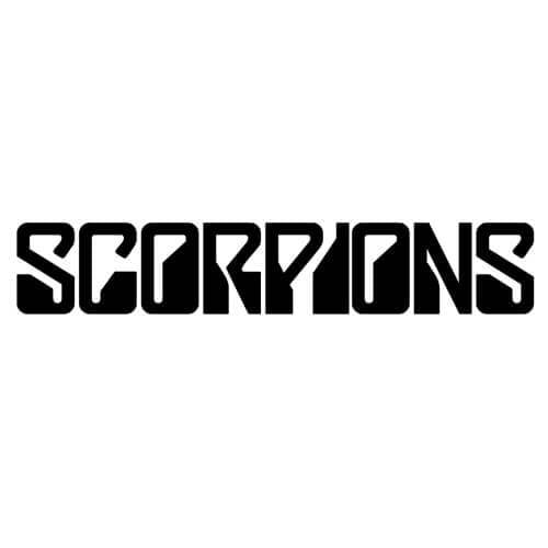 Scorpions Band Decal Sticker