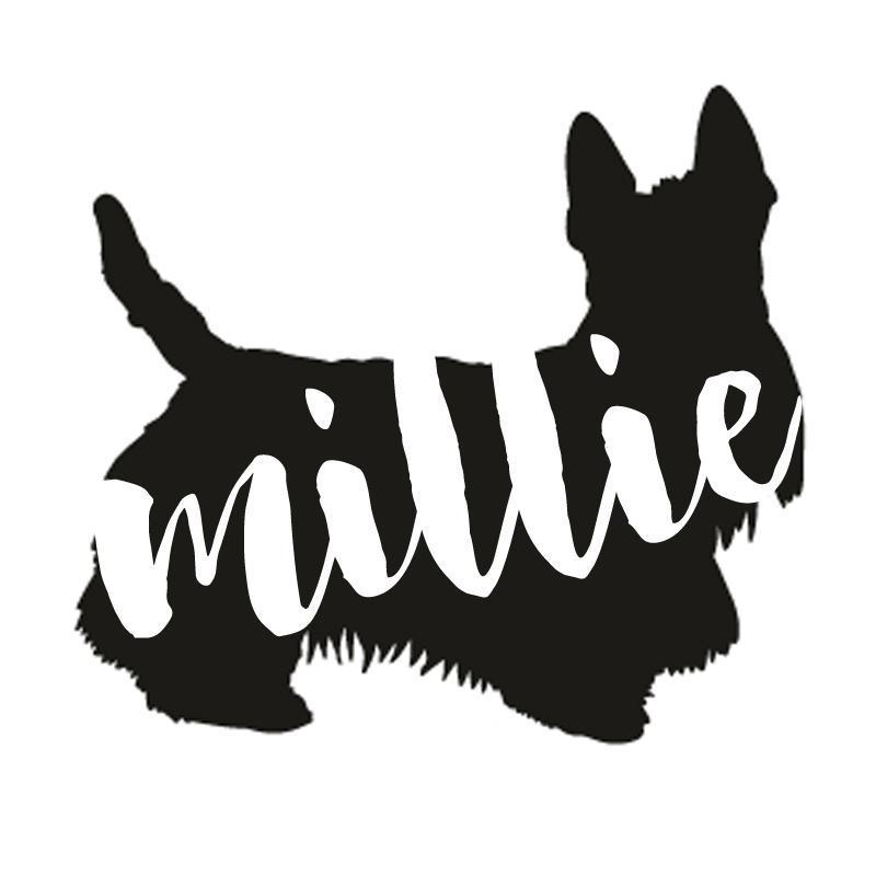 Scottish Terrier Dog Decal Sticker for Car Windows