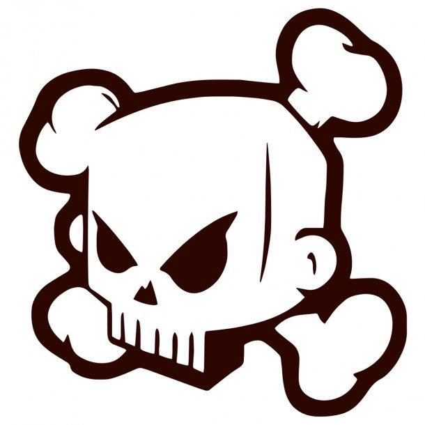 Scull Decal Sticker