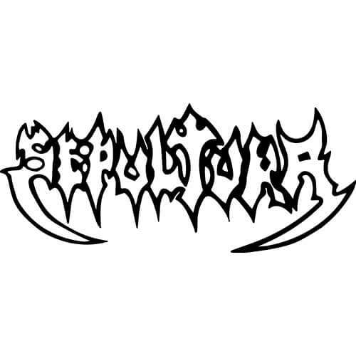 Sepultura Band Decal Sticker