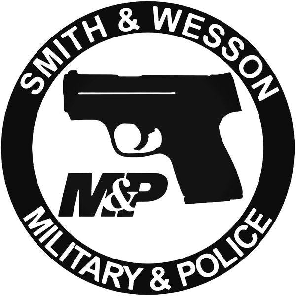 Smith Wesson Military Police Guns  Decal Sticker