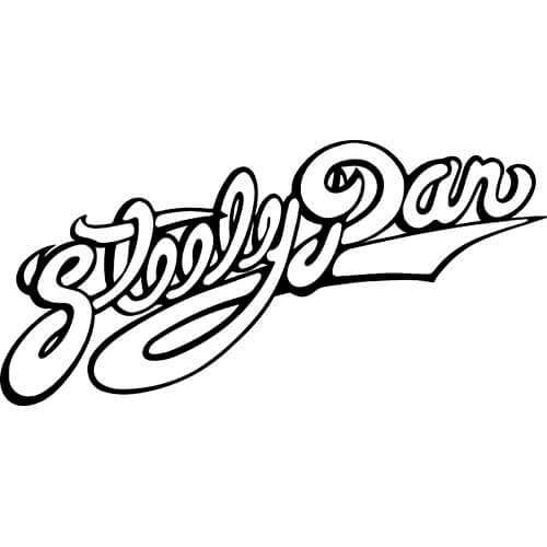 Steely Dan Logo Decal Sticker