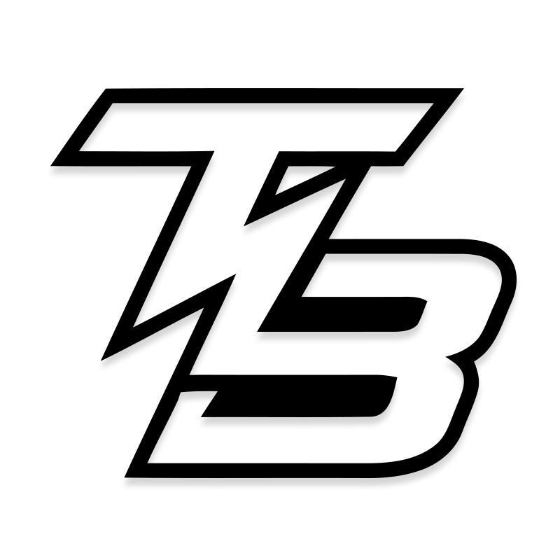 Tampa Bay TB Lightning Decal Sticker for Cars