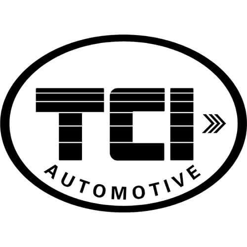 TCI Automotive Logo Decal Sticker
