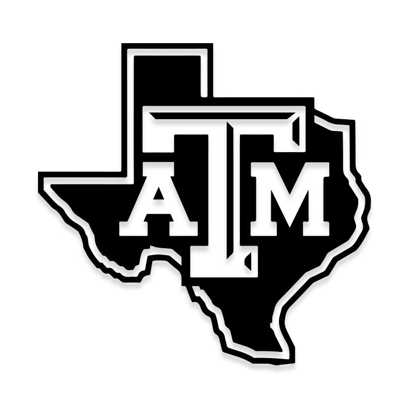 Texas A and M Decal Sticker