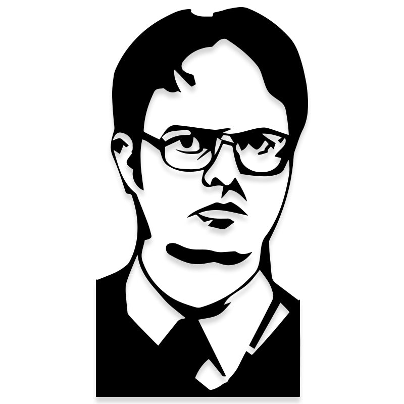 The Office Dwight Schrute Vinyl Decal