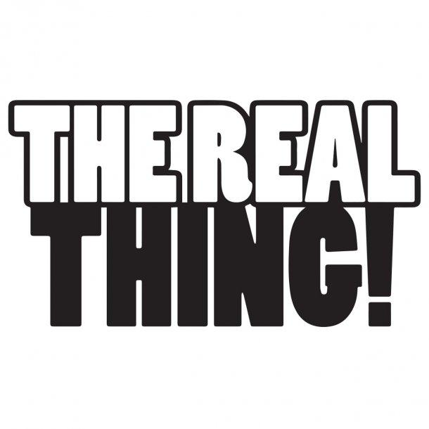The Real Thing Decal Sticker