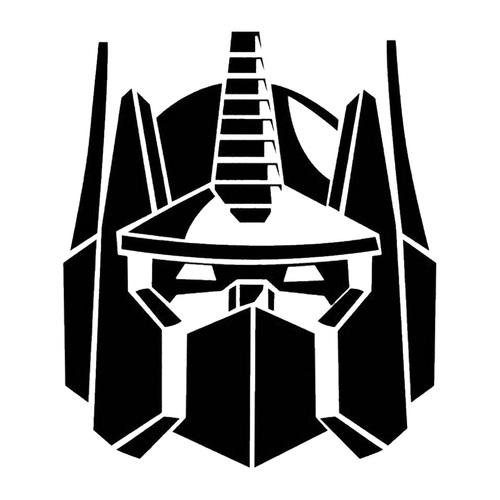 Transformers Autobots Optimus Prime Decal Sticker